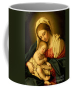 The Madonna And Child Coffee Mug by Il Sassoferrato