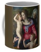 The Madonna And Child With Saints Coffee Mug