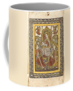 The Madonna Enthroned With Eighteen Holy Women Coffee Mug