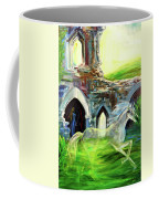 The Magic And Majesty Of Corfe Castle Coffee Mug