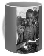 The Magic Of Books Bw Coffee Mug