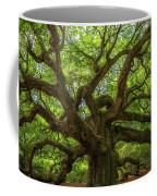 The Magical Angel Oak Tree Panorama  Coffee Mug