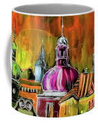 The Magical Rooftops Of Prague 01 Coffee Mug by Miki De Goodaboom