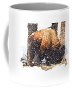 The Majestic Bison Coffee Mug