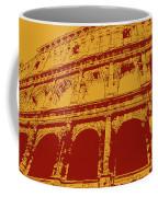 The Majestic Colosseum Of Rome Coffee Mug