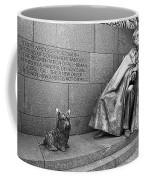 The Man And His Dog Coffee Mug