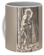 The Man Of Sorrows At The Foot Of The Cross Coffee Mug