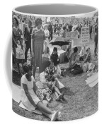 The March On Washington   At Washington Monument Grounds Coffee Mug