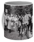 The March On Washington  Freedom Walkers Coffee Mug