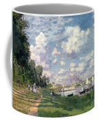 The Marina At Argenteuil Coffee Mug by Claude Monet