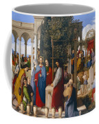 The Marriage At Cana Coffee Mug by Julius Schnorr von Carolsfeld