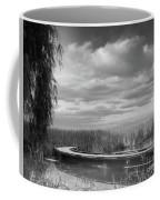 The Marsh-in Black And White Coffee Mug