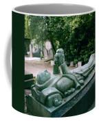 The Mask Of Meditation Coffee Mug