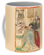 The Mass Of Saint Gregory Coffee Mug