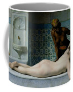 The Massage Coffee Mug by Edouard Debat-Ponsan