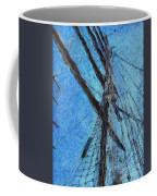 The Mast And The Wind Coffee Mug