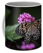 The Master Calls A Butterfly Coffee Mug by Cindy Lark Hartman