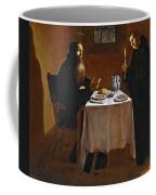 The Meal Of Saint Benedict Of Nurcia Coffee Mug