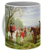 The Meet Coffee Mug by Edward Benjamin Herberte