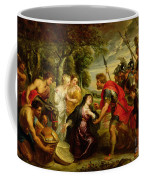 The Meeting Of David And Abigail Coffee Mug