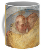 The Meeting Of St Francis And St Dominic  Coffee Mug