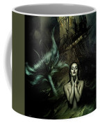 The Mermaid And The Sailor Coffee Mug