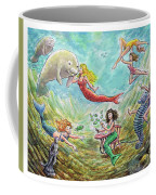 The Mermaids Of Weeki Wachee State Park Coffee Mug