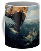 The Mermaid's Rock Coffee Mug by Edward Matthew Hale