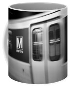 The Metro Is The Subway Train Coffee Mug