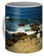 The Mighty Pacific Grab A Chair And Watch The Show Three Coffee Mug