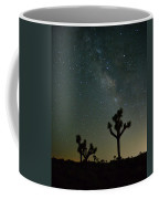 The Milky Way And Joshua Trees Coffee Mug