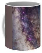 The Milky Way Around The Small Coffee Mug