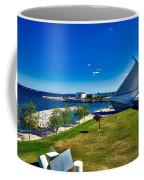 The Milwaukee Art Museum On Lake Michigan Coffee Mug
