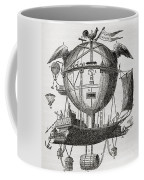 The Minerva Balloon Designed By  Tienne Coffee Mug