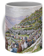 The Miracle Of The Loaves And Fishes Coffee Mug by Tissot