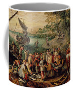 The Miraculous Draught Of Fishes Coffee Mug