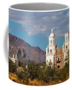 The Mission And The Mountains Coffee Mug