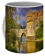 The Moat At Leeds Castle Coffee Mug