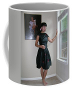 The Model And The Painting Coffee Mug