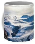 The Monte Rosa Glacier In Switzerland Coffee Mug