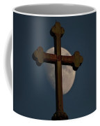 The Moon And The Cross  Coffee Mug
