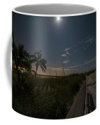 The Moonit Path To Fort Myers Beach Fort Myers Florida Coffee Mug