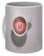 The Morning Power Up Coffee Mug by Scott Norris