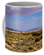 The Morning Train By Route 66 Coffee Mug