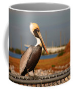 The Most Beautiful Pelican Coffee Mug by Susanne Van Hulst