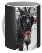 The Mule That Poses Coffee Mug