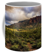 The Mystical Beauty Of The Superstitions  Coffee Mug