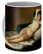 The Naked Maja Coffee Mug by Goya