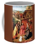 The Nativity By Gerard David  Coffee Mug