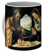 The Nativity Coffee Mug by Lorenzo Costa